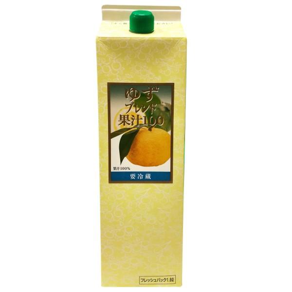 柚子汁100%(紙盒)