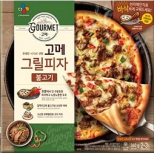 CJ GOURMET 烤豬肉PIZZA