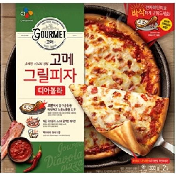 CJ GOURMET 燒烤火腿辣茄汁PIZZA